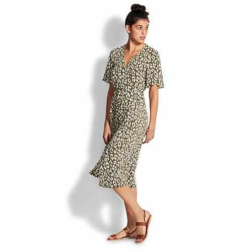 Seafolly Wrap Dress - Copacabana