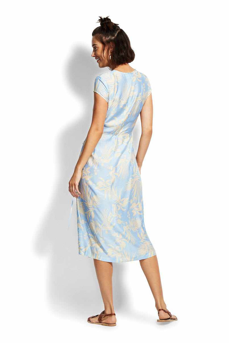 Seafolly La Palma Wrap Dress - Aloha