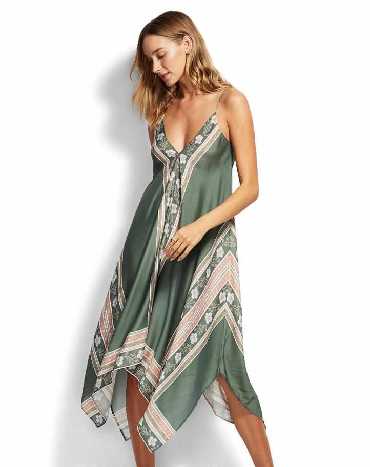 Seafolly Scarf Dress - Balinese Retreat
