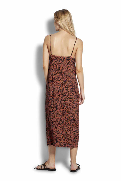 Seafolly Leopard Slip Dress - Amazonia