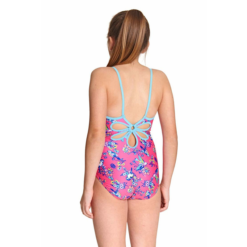 Zoggs Girls One Piece - Journey Yaroomba Floral