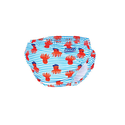 Zoggs Adjustable Swim Nappy - Octo Pirate