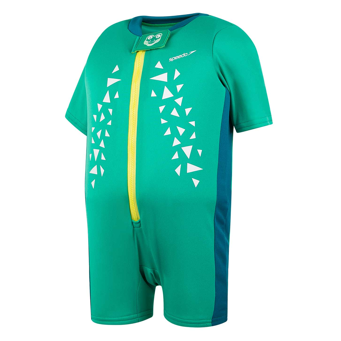 Speedo Toddler Float Suit - Cosmos/Emerald