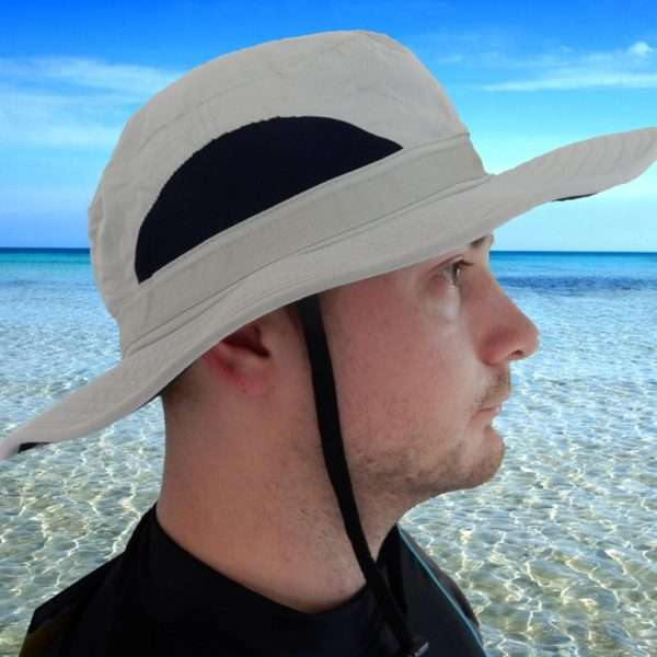 Radicool Broad Brim Hat - Sand Small