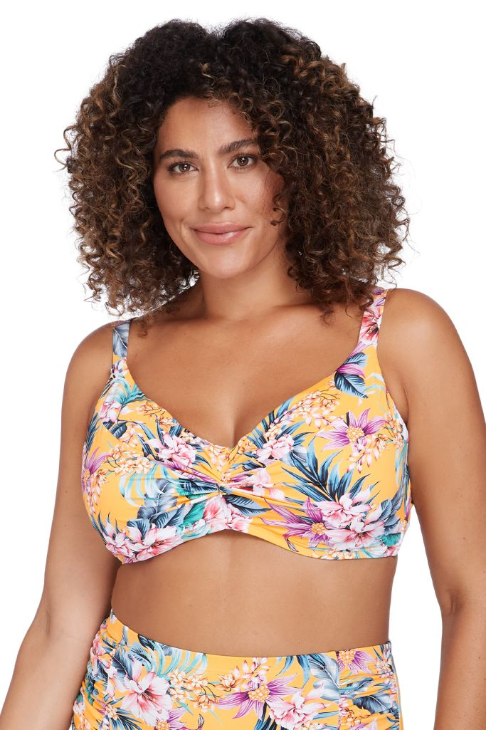 Artesands Monet Soft Cup Underwire Bikini Top - Tropological