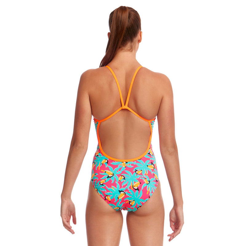 Funkita Ladies Eco Single Strap One Piece - ToucanTango