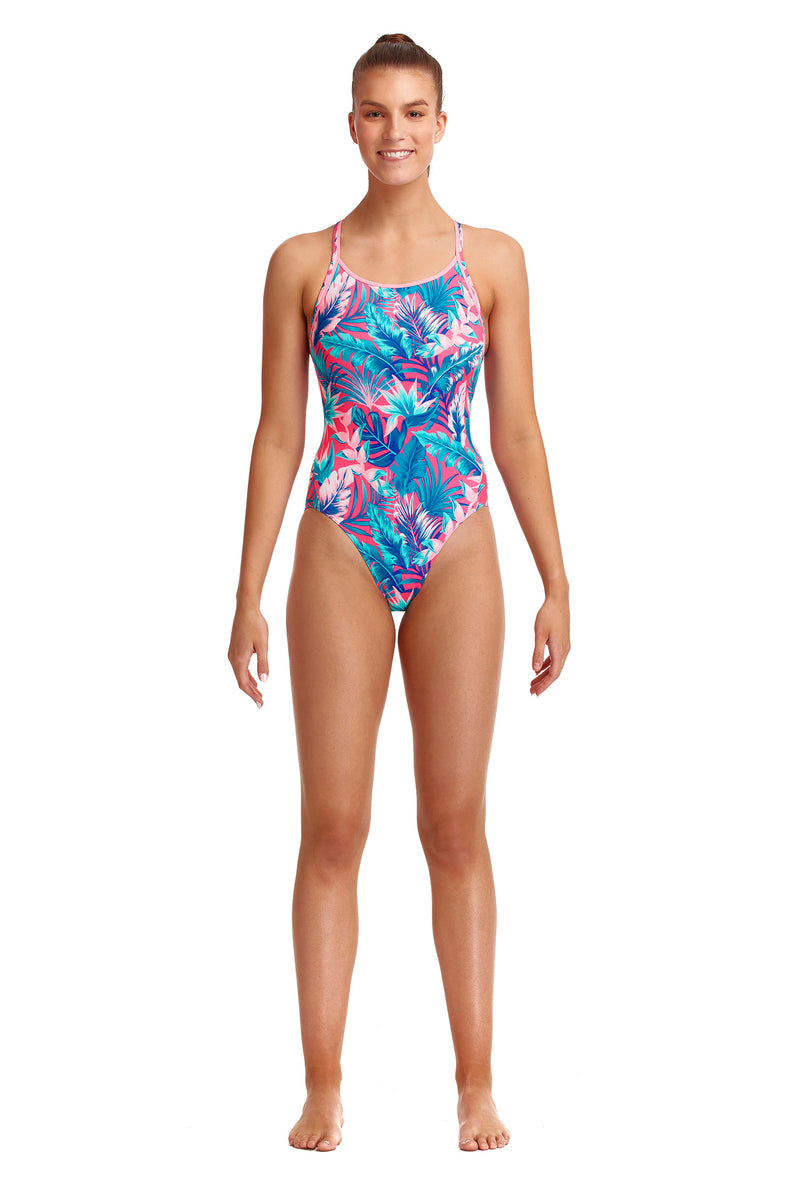 Funkita Ladies Eco Diamond Back One Piece - TropFest
