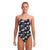 Funkita Girls Diamond Back One Piece - Black Swan
