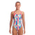Funkita Girls Diamond Back One Piece - Slapped On