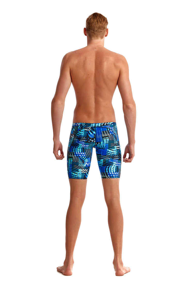 Funky Trunks Mens Training Jammers - Electric Nights