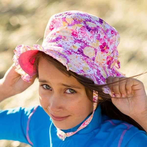 Radicool Girls Reversible Hat - Lilac