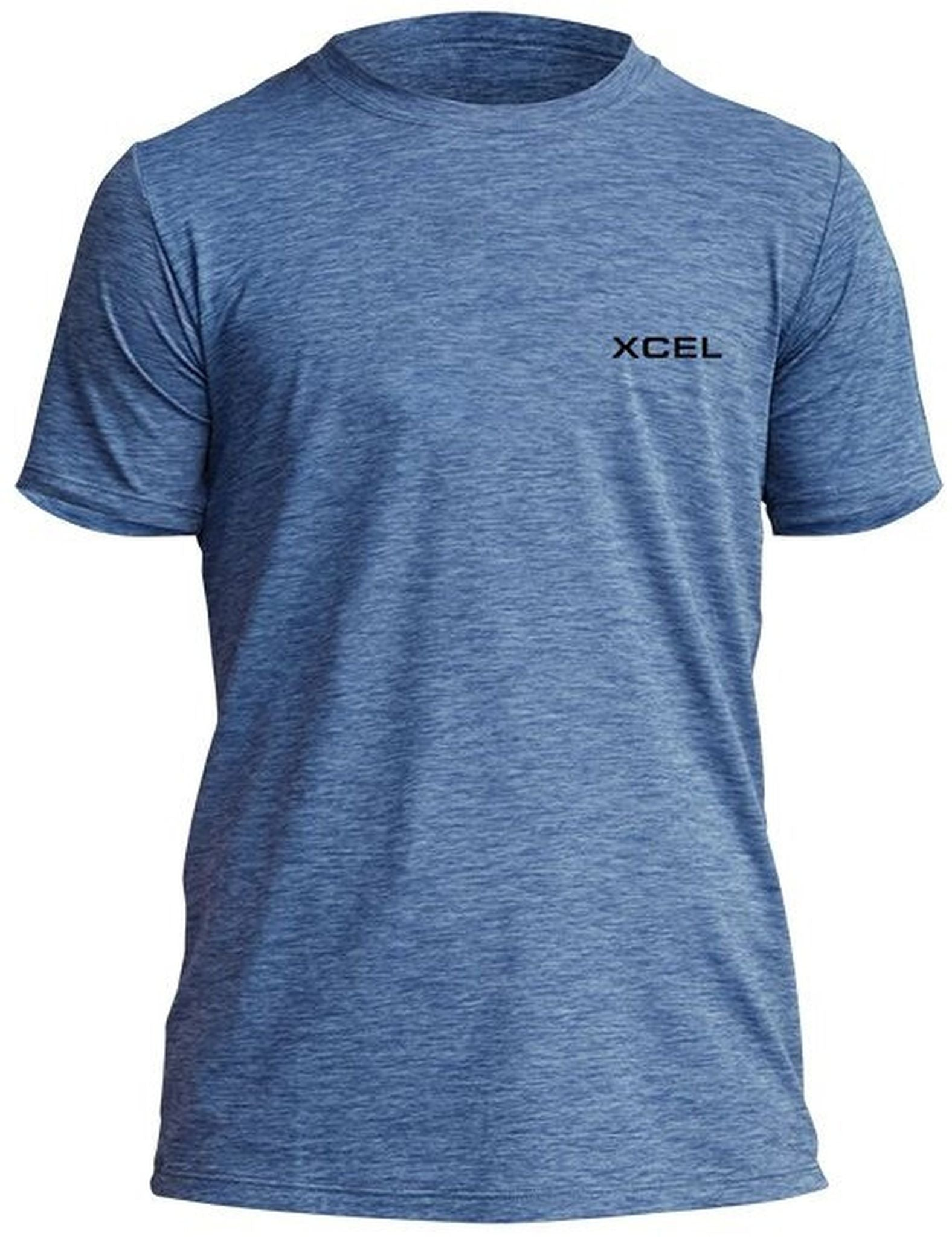 XCEL YOUTH HEATHERED VENTX SOLID SS SHIRT