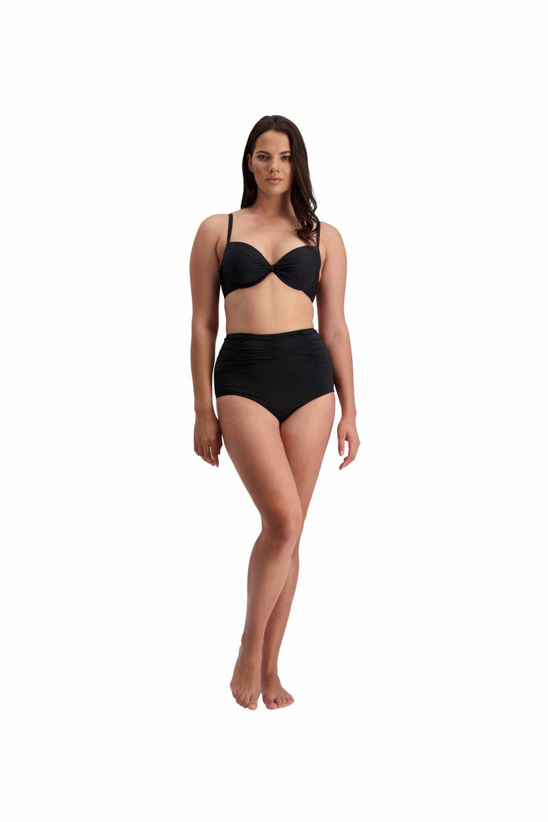 Moontide DD-F Cup Underwire Cross Front Top - Contours