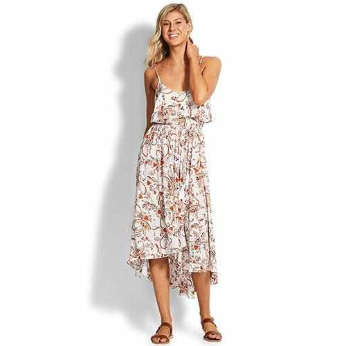 Seafolly Paisley Midi Dress