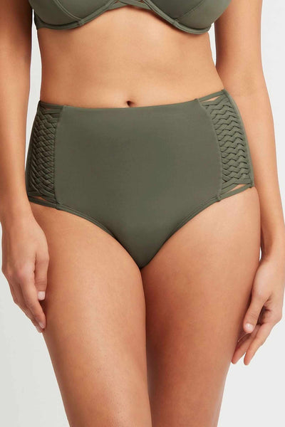 Sea Level High Waist Pant With Macrame - Bella