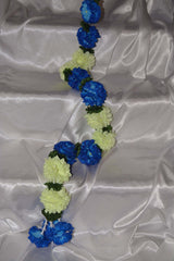 Blue and Cream Hanging Garland