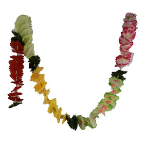1 x Mixed Coloured Hanging Artificial Garland Flowers with Stems (180cm Long)