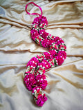 Artificial Necklace Garland Flowers - Hot Pink Milini Haar Artificial Necklace Garland Flowers