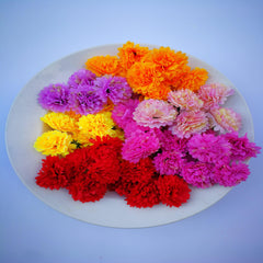 Loose Artificial Flowers - Mixed Colour Loose Artificial Flowers