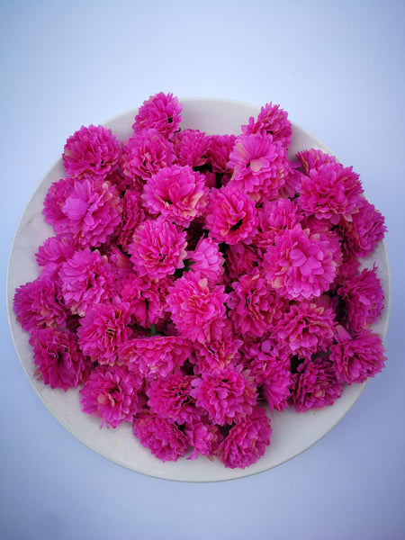 Loose Artificial Flowers - Pink Loose Artificial Flowers