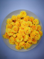 Loose Artificial Flowers - Yellow Loose Artificial Flowers