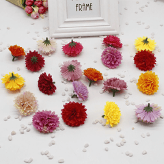 Mixed Colour Artificial Carnation Flowers