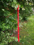 Personalised Hanging Artificial Garland Flowers - Red Personalised Hanging Artificial Garland Flowers