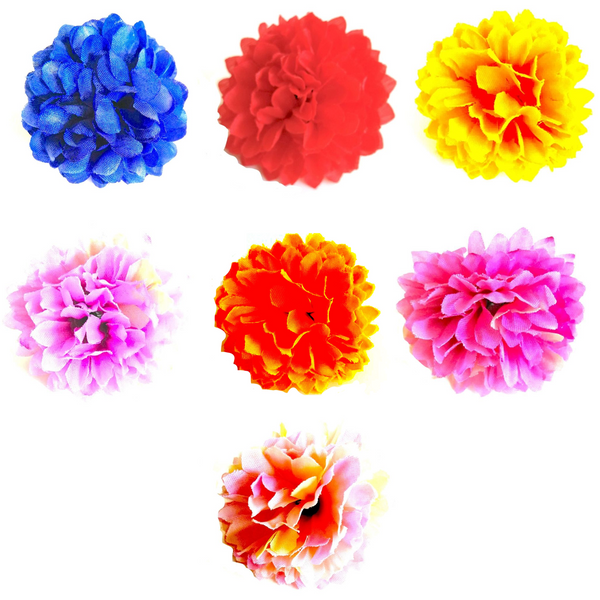 Mixed Colour Loose Artificial Flowers