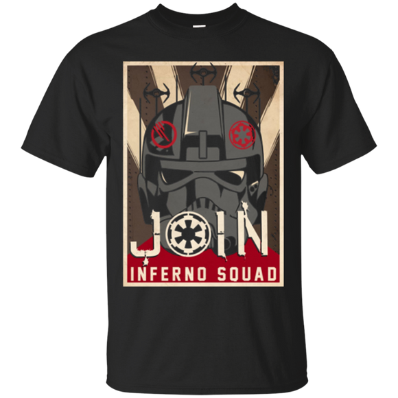 Star Wars Battlefront II Join Inferno Squad Poster T-Shirt