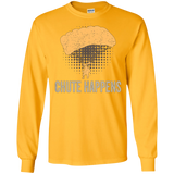 Chute Happens funny shirt for skydivers