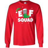 Cool Elf Squad Christmas Xmas Holiday Gift Ls Shirt