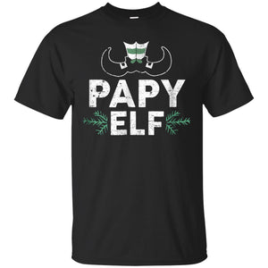 ELF Papy Season Matching Christmas T-Shirt Family Xmas