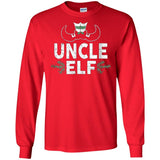 ELF Uncle Season Matching Christmas T-Shirt Family Xmas