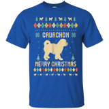 Cavachon Christmas T-Shirt, Ugly Christmas Sweater T-shirt