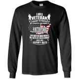 I Am A Veteran, I Fought To Protect My Country T Shirt