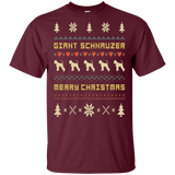 GIANT SCHNAUZER T-Shirt, Ugly Christmas Sweater T-shirt