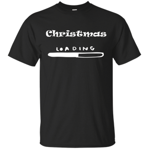 Cute Christmas Loading X-mas T-Shirt For Holiday