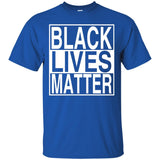 Black Lives Matter Is About Race Unity No To Racism Tshirt JAQ T-Shirt
