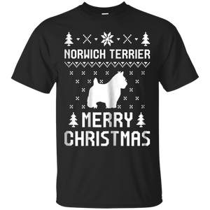 Norwich Terrier Ugly Christmas Sweater T-shirt, hoodie, tank