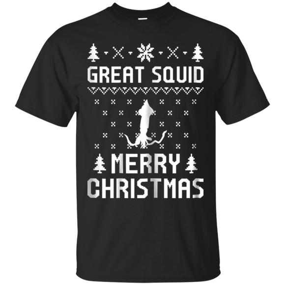 Great Squid Christmas T-shirt, Ugly Christmas Sweater Shirt, hoodie, tank
