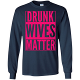 DRUNK WIVES MATTER Cute Wife Christmas Party Drinking Shirt