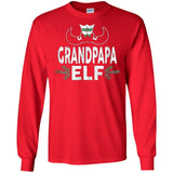 ELF Grandpapa Season Matching Christmas T-Shirt Family Xmas