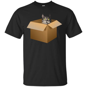 A Cat In A Box Hilarious Cat Lovers  Kitty Cat Moms