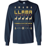 LLAMA Ugly Christmas Sweater T-Shirt Vintage Retro Style, hoodie, tank