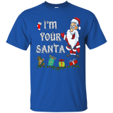 Matching Christmas Funny I'm Your Santa and Elf Shirts