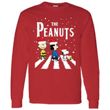 The Peanuts Abbey Road Christmas Sweashirt