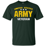United States Army Veteran Tshirt for Men & Women Faded