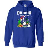 Funny Cat Dab Dance Festive T-shirt Christmas Tee
