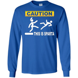 Caution This Is Sparta - Humorous T Shirt