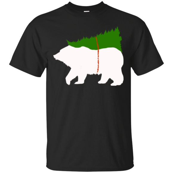Mama Bear Christmas Tree Family Matching Pajamas T-Shirt